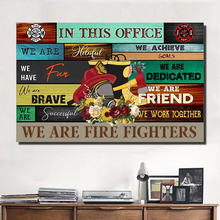 Load image into Gallery viewer, MC-DH Horizontal Printed Canvas - We Are Fire Fighters