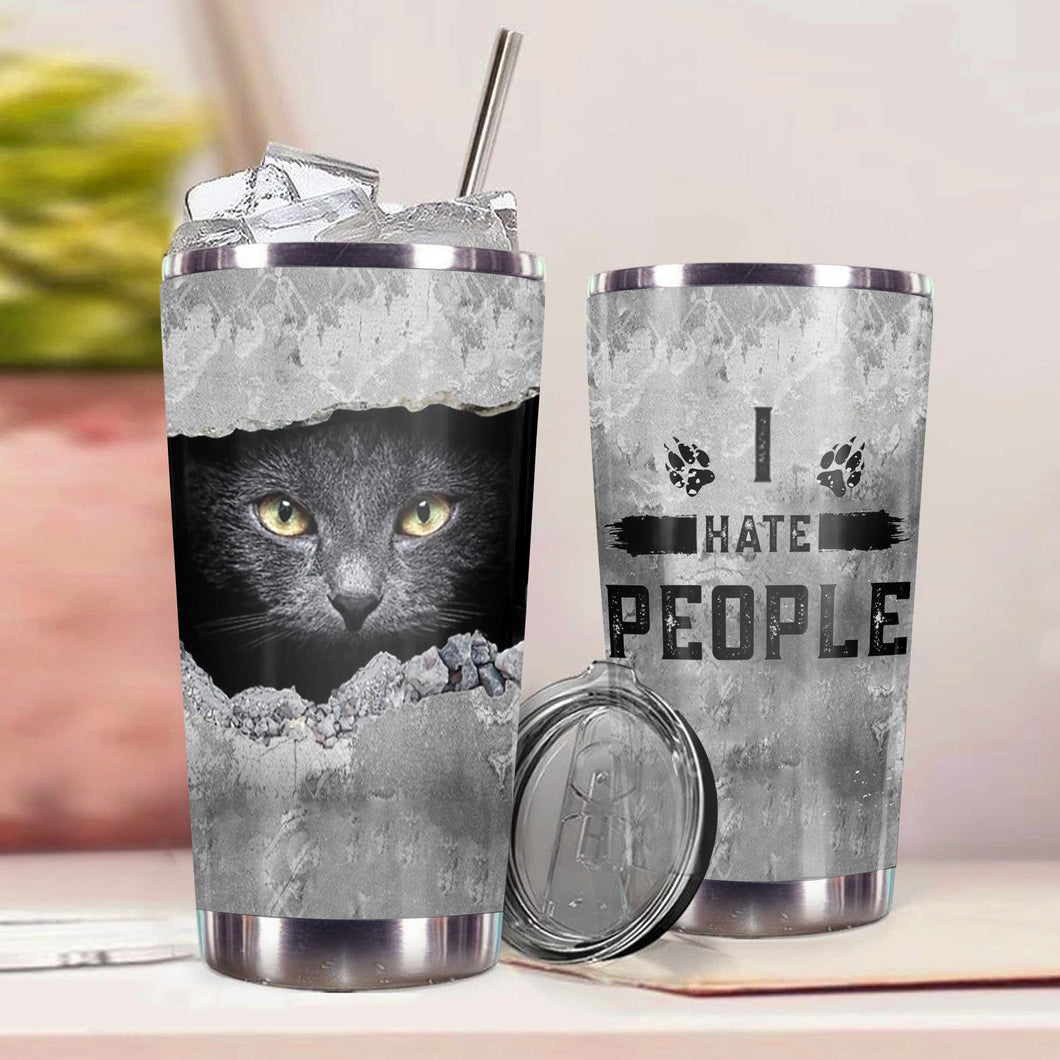TT-HA Design Vacuum Insulated Tumbler - I Hate People