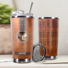 Load image into Gallery viewer, H-LK Design Vacuum Insulated Tumbler - B.M Washburn Guitar