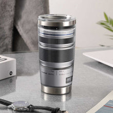 Load image into Gallery viewer, Camera Olympus 12-50mm Lens Silver Tumbler