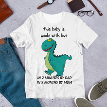 Load image into Gallery viewer, MC-DH Standard Printed  2D Shirt Kid - Baby Trex-Shark