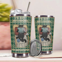 Load image into Gallery viewer, TT-HA Design Vacuum Insulated Tumbler - I'm Not Anti Social