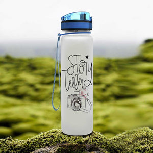 Photography Knowledge Water Tracker Bottle