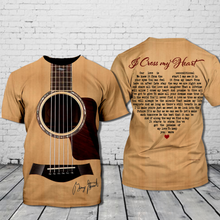 Load image into Gallery viewer, TR-DM Standard Printed Allover 3D Combo Shirt - I Cross My Heart