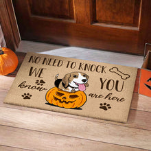 Load image into Gallery viewer, Beagle Halloween Dog Doormat