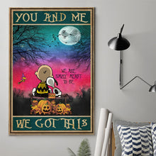 Load image into Gallery viewer, Night Sky Snoopy Wall Decor Canvas