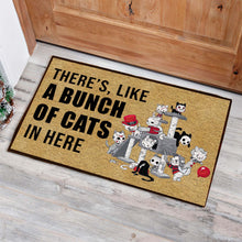 Load image into Gallery viewer, A Bunch Of Cats Doormat