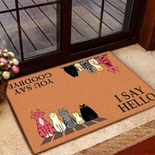 Load image into Gallery viewer, A Group Of Cats Doormat