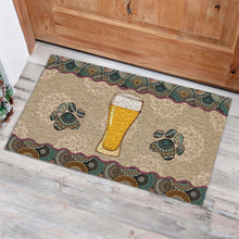 Load image into Gallery viewer, Beer And Paw Doormat