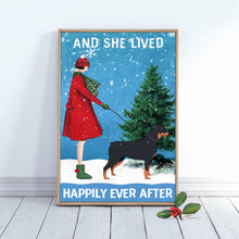 Load image into Gallery viewer, Rottweiler Happily Ever After Canvas