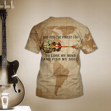 Load image into Gallery viewer, TR-DM Standard Printed Allover 3D Combo Shirt - Into The Forest I Go