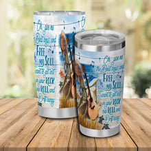 Load image into Gallery viewer, H-TD Design Vacuum Insulated Tumbler - Guitar Rock And Roll