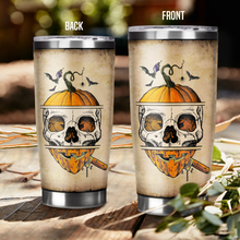 Load image into Gallery viewer, H-BB Design Vacuum Insulated Tumbler - Skull Pumpkin