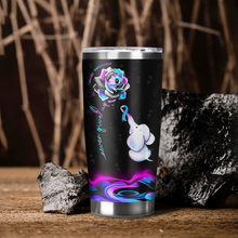 Load image into Gallery viewer, VA-BB Design Vacuum Insulated Tumbler - Never Give Up Elephant