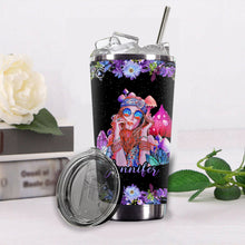 Load image into Gallery viewer, VA-NH Custom Name Design Vacuum Insulated Tumbler - Purple Dream Girl