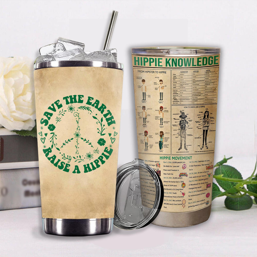 VA-NH Design Vacuum Insulated Tumbler - Save The Earth