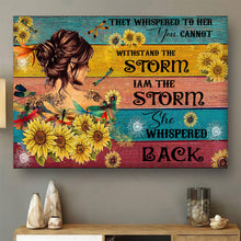 Load image into Gallery viewer, VA-NH Horizontal Printed Canvas - Storm Girl