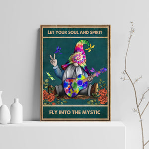 VA-NH Vertical Printed Canvas - Fly Into The Mystic