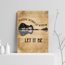 Load image into Gallery viewer, VA-NH Vertical Printed Canvas - Wisdom Guitar Lake