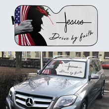 Load image into Gallery viewer, VH-BB Windshield Sunshade - Jesus Drive By Faith