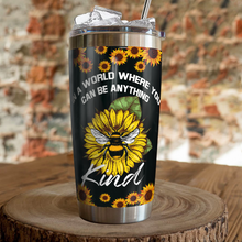 Load image into Gallery viewer, VH-QK Design Vacuum Insulated Tumbler - Bee Kind
