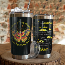 Load image into Gallery viewer, VH-QK Design Vacuum Insulated Tumbler - Butterfly Wisdom