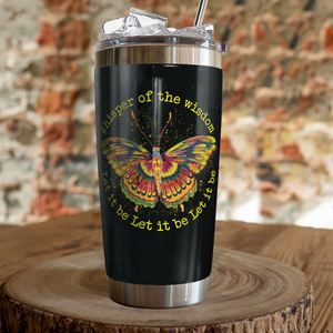 VH-QK Design Vacuum Insulated Tumbler - Butterfly Wisdom