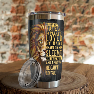 VH-QK Design Vacuum Insulated Tumbler - Lion August Boy