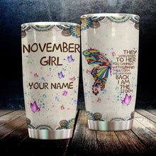 Load image into Gallery viewer, MC-DD Custom Design Vacuum Insulated Tumbler -  Colorful Butterfly