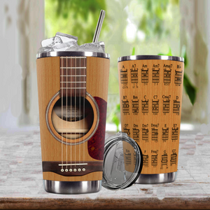 TR-DM Design Vacuum Insulated Tumbler - Guitar Chords