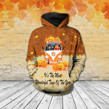 Load image into Gallery viewer, TT-HA Standard Printed Allover Hoodie And Sweater - It's The Most Wonderful Time Of The Year