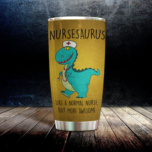 MC-DD Design Vacuum Insulated Tumbler - Nursesaurus