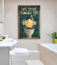 Load image into Gallery viewer, TT-TN Vertical Printed Canvas - Let That Go 02