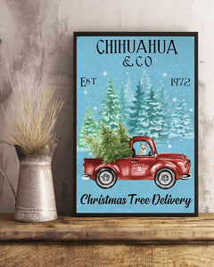Chihuahua Christmas Tree Delivery