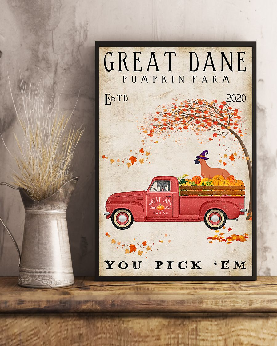 Great Dane Pumpkin Farm