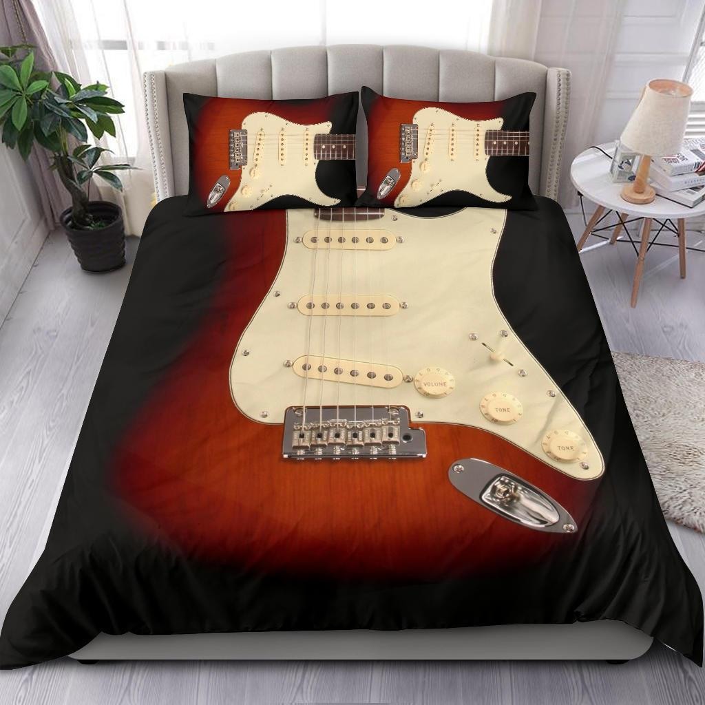 Awesome Electric Guitar Bedding Set