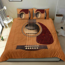 Load image into Gallery viewer, Wooden Guitar Bedding Set