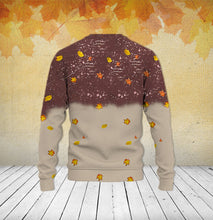 Load image into Gallery viewer, TT-HA Standard Printed Allover Hoodie And Sweater-  It's The Most Wonderful Time Of The Year