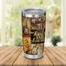 Load image into Gallery viewer, H-TD Design Vacuum Insulated Tumbler - Words Fall