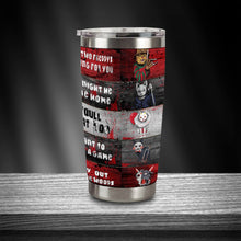 Load image into Gallery viewer, H-TD Design Vacuum Insulated Tumbler - Horror Movies Cats
