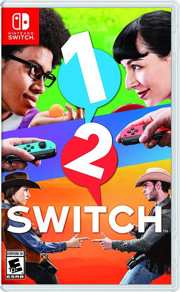 Nintendo Switch Game Rental - 1 2 Switch