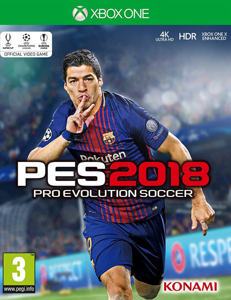 Xbox ONE Game Rental - PES 2018