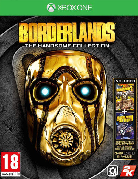 Xbox ONE Game Rental - Borderlands The Handsome Collection