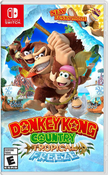 Nintendo Switch Game Rental - Donkey Kong Country Tropical Freeze