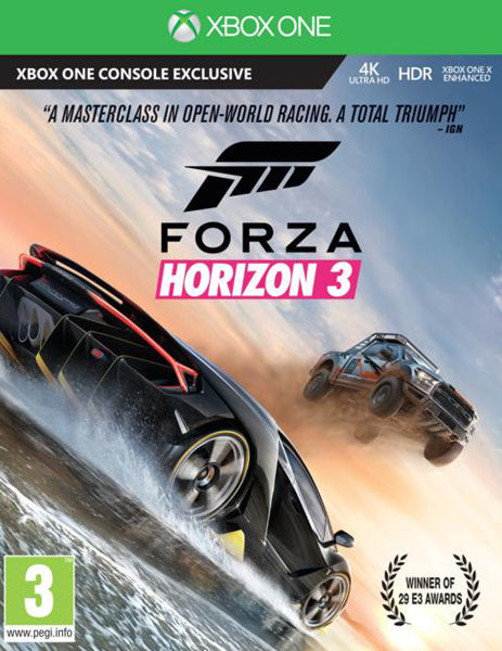 Xbox ONE Game Rental - Forza Horizon 3