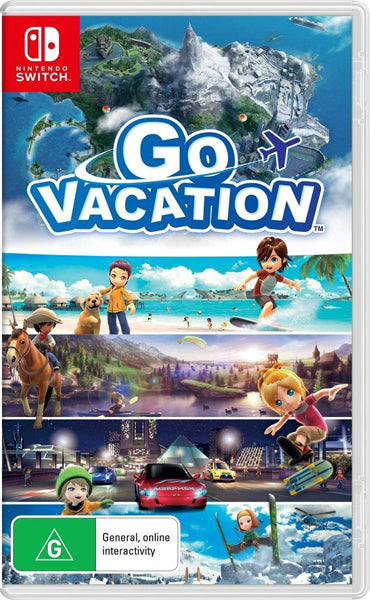 Nintendo Switch Game Rental - Go Vacation