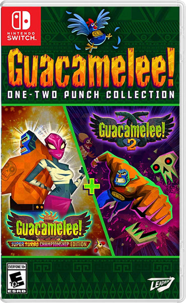 Nintendo Switch Game Rental - Guacamelee! One-Two punch collection