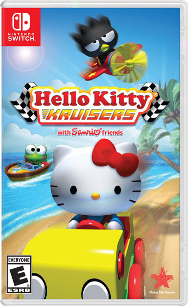 Nintendo Switch Game Rental - Hello Kitty Kruisers with Sanrio Friends