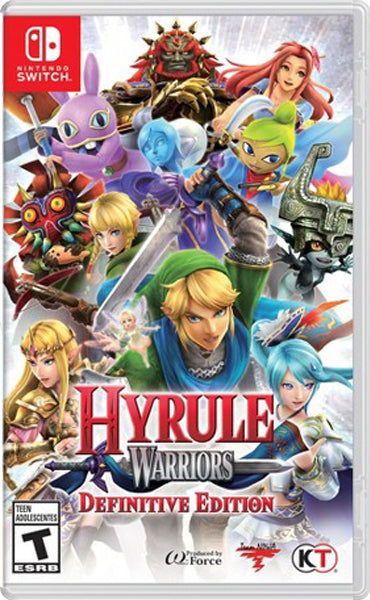 Nintendo Switch Game Rental - Hyrule Warriors Definitive Edition
