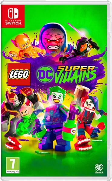 Nintendo Switch Game Rental - Lego DC Super Villains